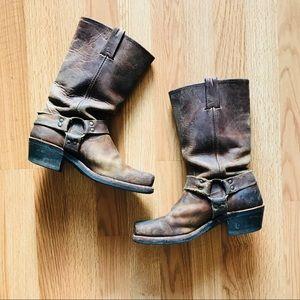 Frye harness boot 12R